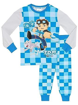Tube Heroes Boys Dan TDM Pajamas 6