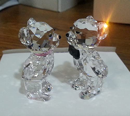 SWAROVSKI Kris Bear Figurine, The First Kiss