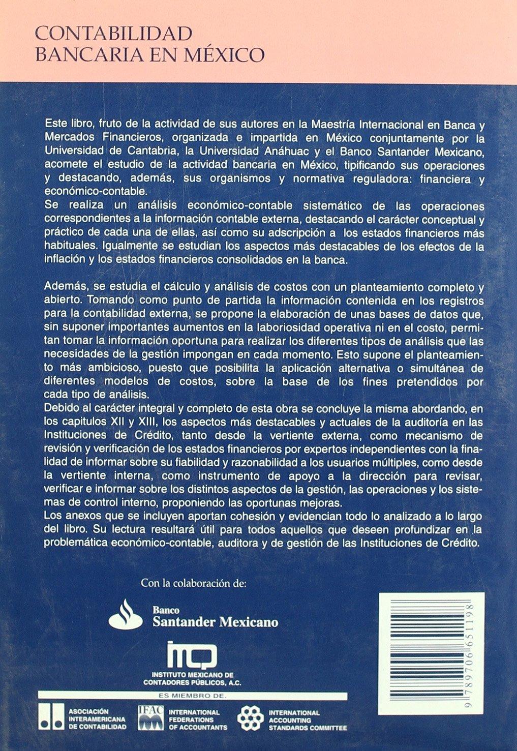 Contabilidad bancaria en México (Difunde): Amazon.es: Salvador Marín Hernández, Francisco Javier Martínez García: Libros