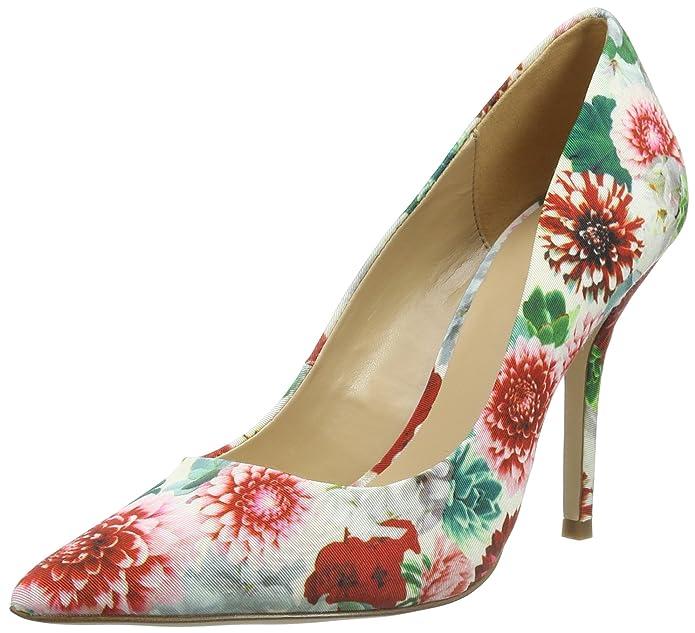 Haollan - Zapatos de Tacón Mujer, Color Blanco, Talla 38 Aldo