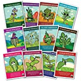 CERTIFIED ORGANIC 12 Culinary Herbs set - Serious seeds with a fun side!