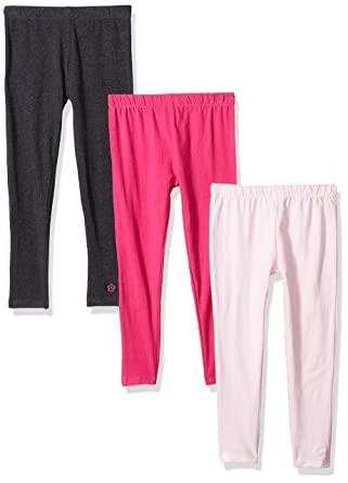 3e7c8b56bc9ab Limited Too Little Girls' 3 Pack Fleece Legging (More Styles Available),  Multi
