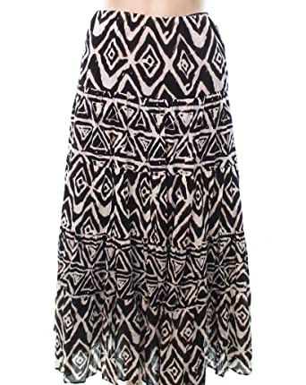 8dcd03de6d Lauren Ralph Lauren Women's Plus Size Printed Maxi Skirt-BM-1X at Amazon  Women's Clothing store: