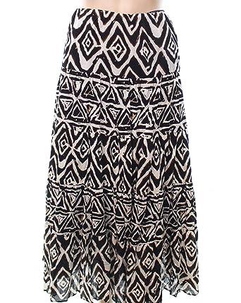 e8ff2fa356832 Lauren Ralph Lauren Women s Plus Size Printed Maxi Skirt-BM-1X at Amazon  Women s Clothing store