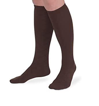faea2a3b8f8 Jefferies Socks Womens Smooth Argyle Knee High Dress Socks 3 Pair Pack (Sock  9