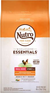 product image for DISCONTINUED BY MANUFACTURER:NUTRO WHOLESOME ESSENTIALS Adult Small Breed Natural Dry Dog Food Farm-Raised Chicken, Brown Rice & Sweet Potato Recipe, 3 lb. Bag