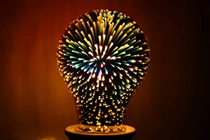 X Data 3D Star Led A60 E27 Voltage:110-230V AC Retro Filament /