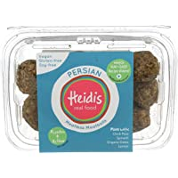 Heidis Meatless, Meatballs Persian, 12 Ounce