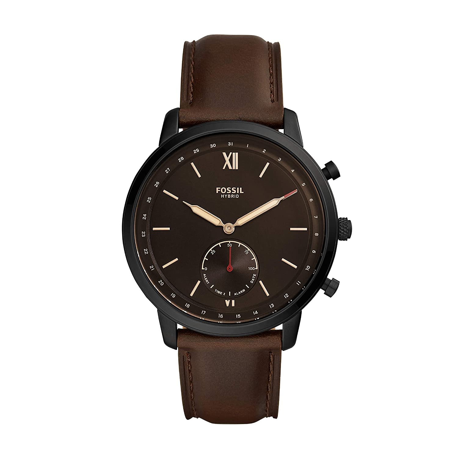 Fossil Neutra Hybrid Analog Black Dial Men's