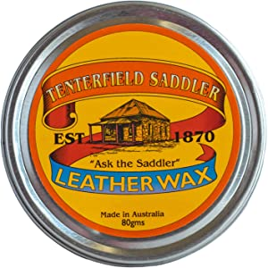 Australian Made Water Proofing Leather Wax : Leather Conditioner and Cleaner - Condition, Clean and Protect Your Leather Goods