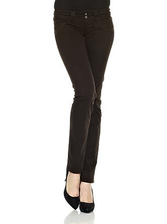 Foncé Pepe 42 Pantalon Femme Marron Jeans NvmwPnOy80