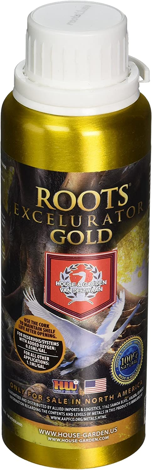 House & Garden HGRXL002 Roots Excelurator GOLD Fertilizer, 250 ml