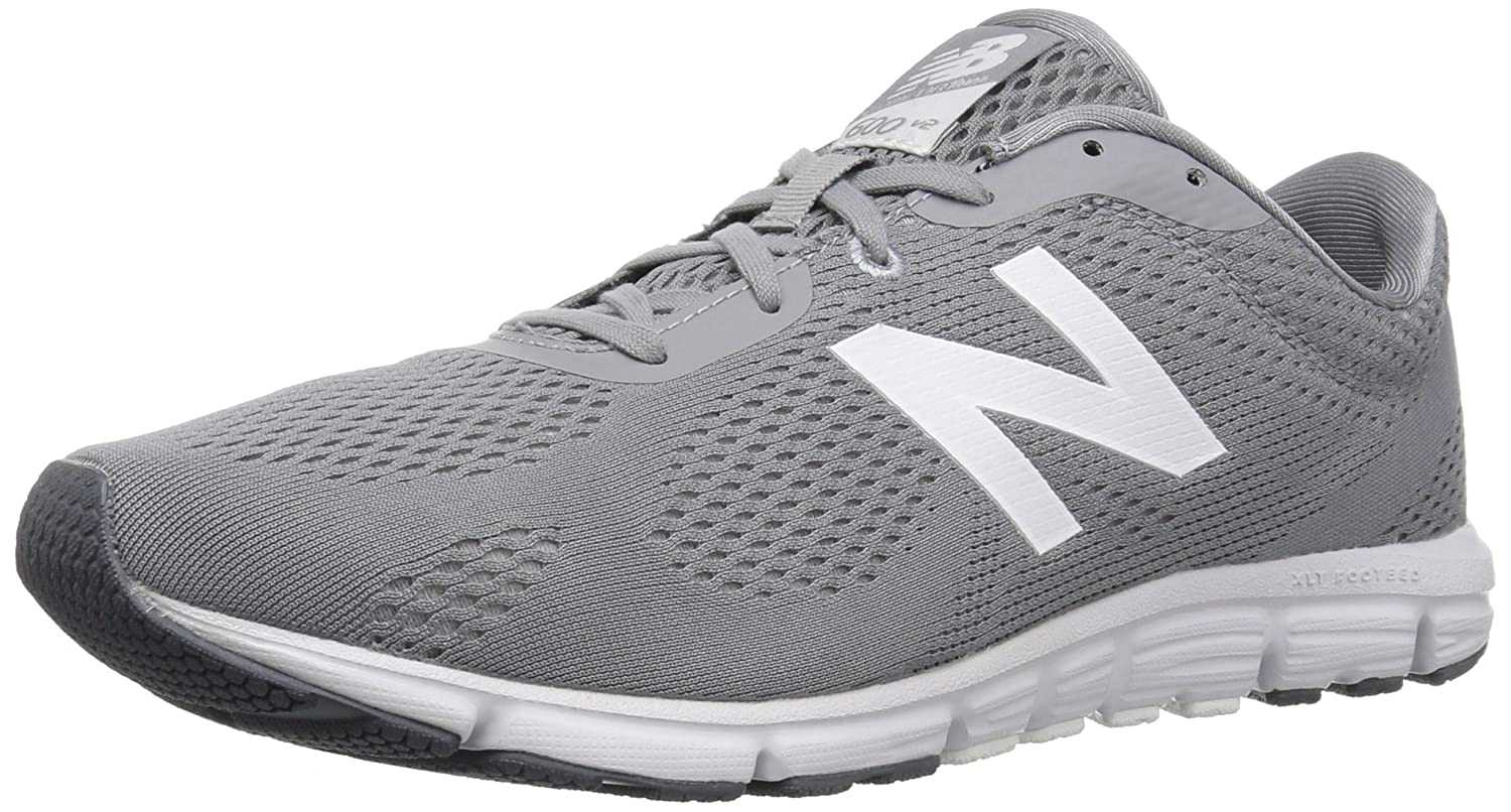New Balance Women's 600v2 Natural Running Shoe B01M17HIYZ 7 B(M) US|Steel/Artic Fox