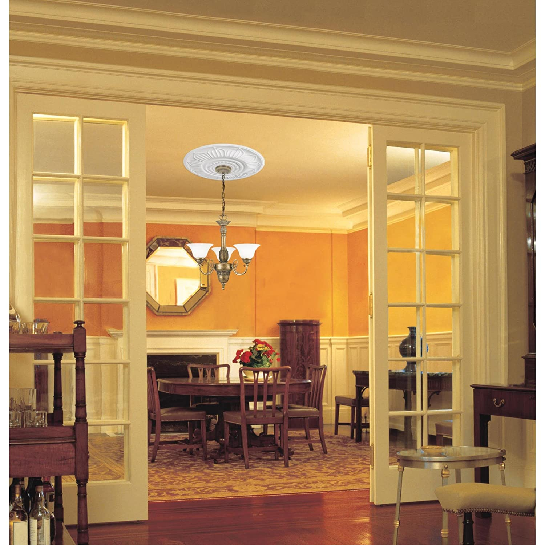 Westinghouse Lighting 7775600 Francesca Polyurethane Ceiling ...