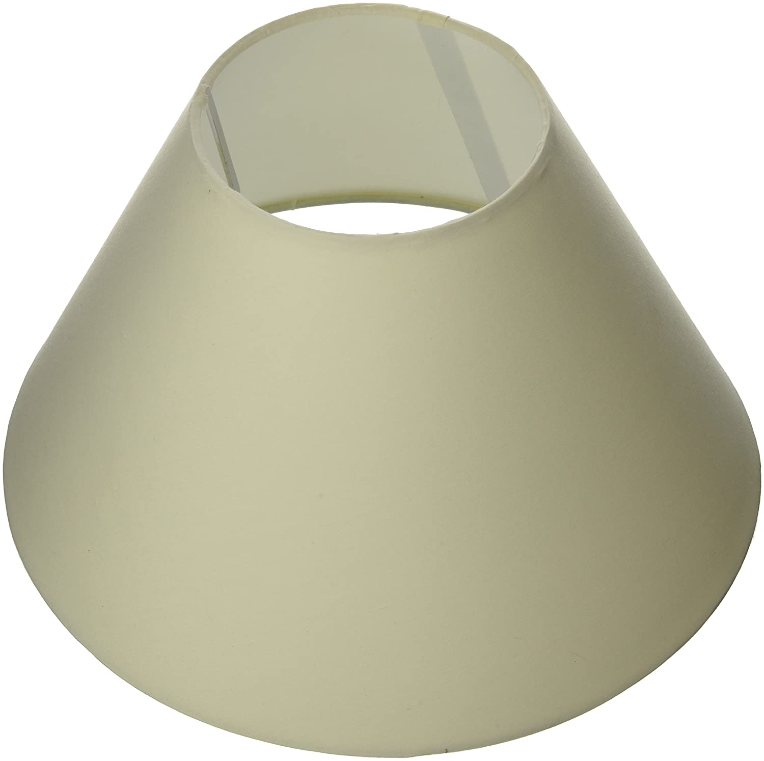 Oaks Lighting Coolie Abat-jour en coton Crè me S501/12 CREAM