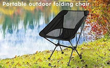 Portable Folding C&ing and Backpacking Chair / Small Sport Chair - Lightweight Foldable Gear Compact & Amazon.com : Portable Folding Camping and Backpacking Chair / Small ...