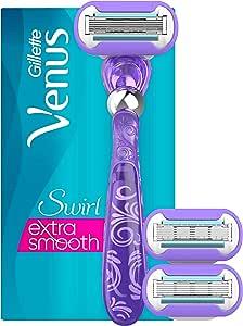 Gillette Venus Swirl - Pack de 6 cuchillas de afeitar: Amazon.es ...
