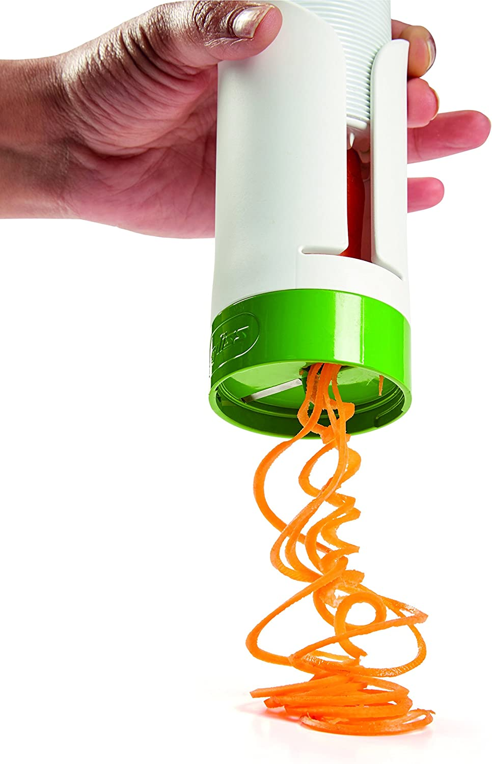 Zyliss® Hand-Held Compact /& Easy-to-Use Manual Push Spiraliser