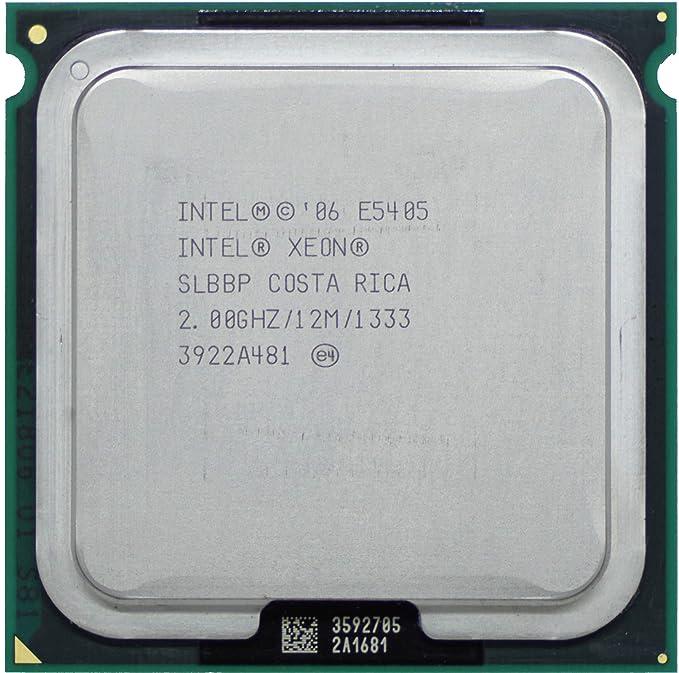 Intel Xeon E5405 CPU 2.0GHz 12MB Cache 1333MHz LGA771 Quad Core Processor SLBBP