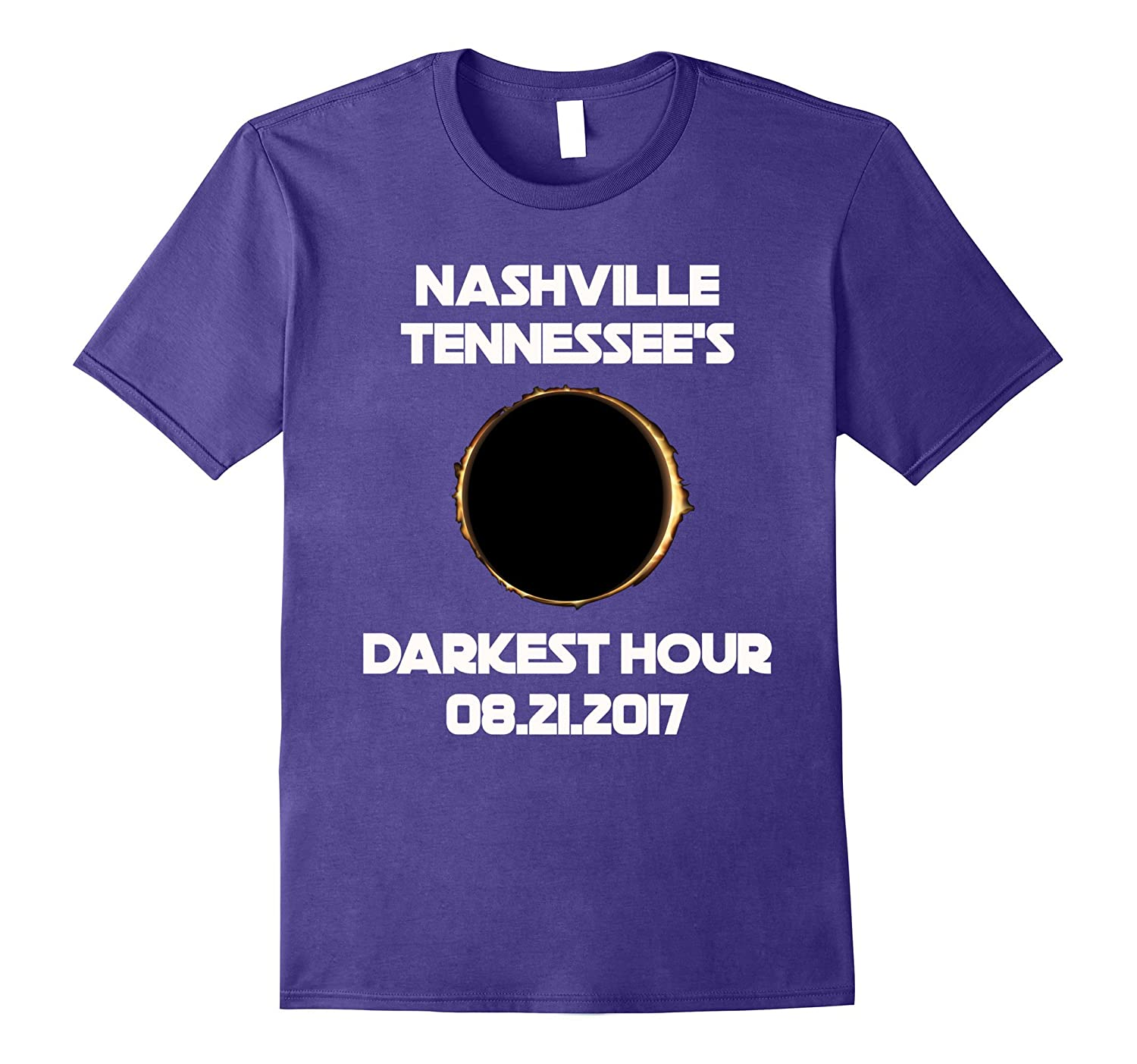 Nashville, Tennessee's Solar Eclipse 2017 T-shirt-Art