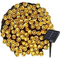 Yasolote 22M Guirnalda de Luces de Energía Solar 8 Modos Impermeable 200 LED Luces Exterior para Decorar Patio, Jardín…
