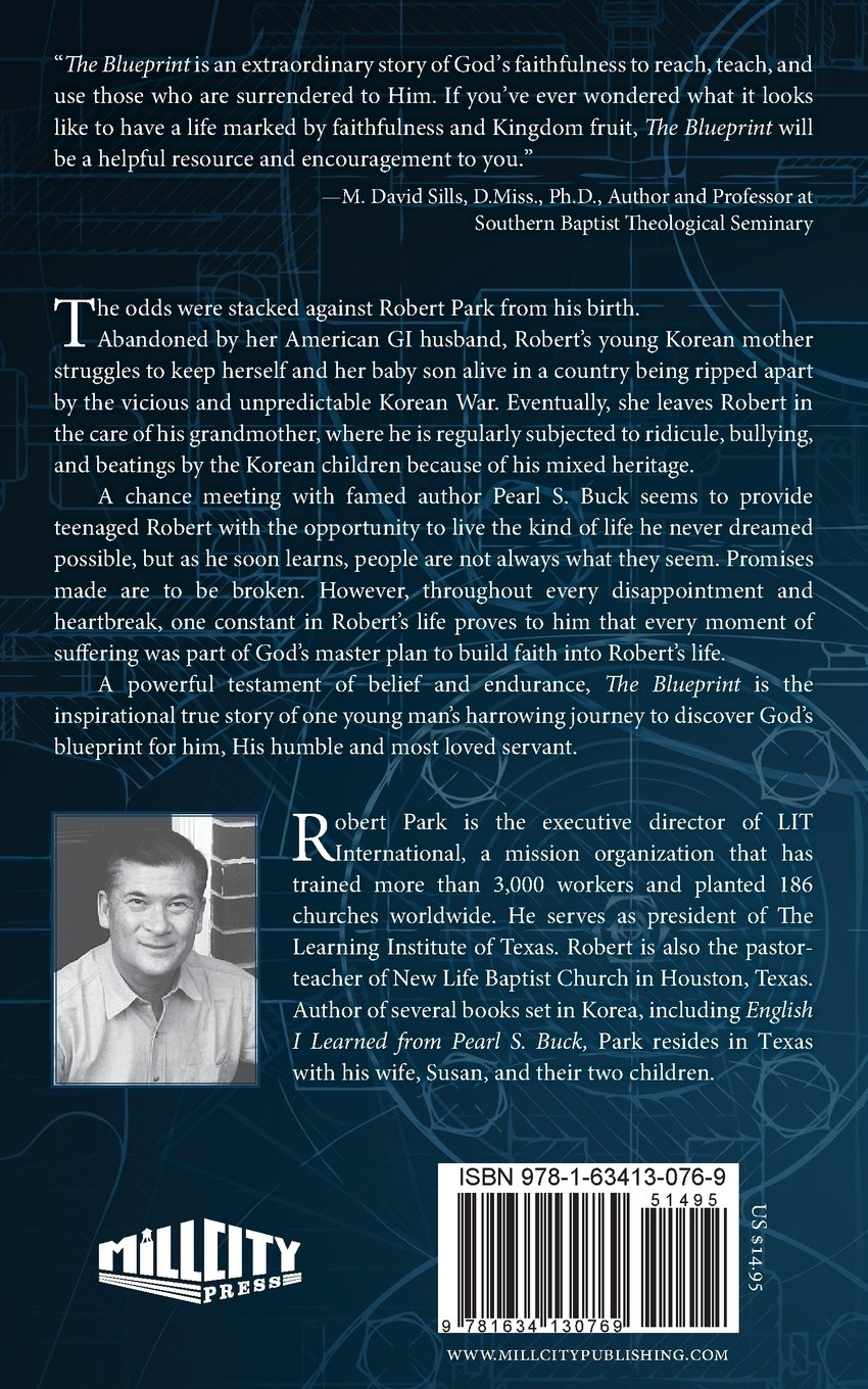 The blueprint discover what god has in store for your life robert the blueprint discover what god has in store for your life robert park 9781634130769 amazon books malvernweather Choice Image
