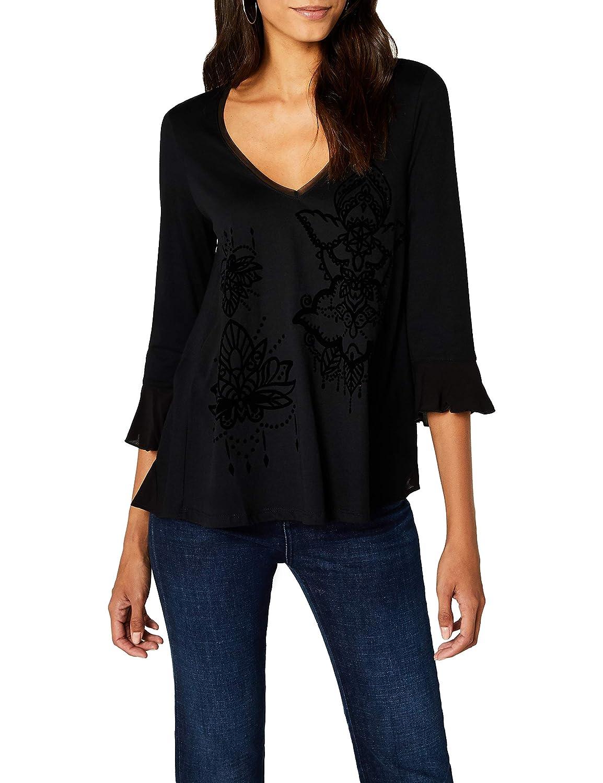 Desigual TS_MASI, Camiseta para Mujer
