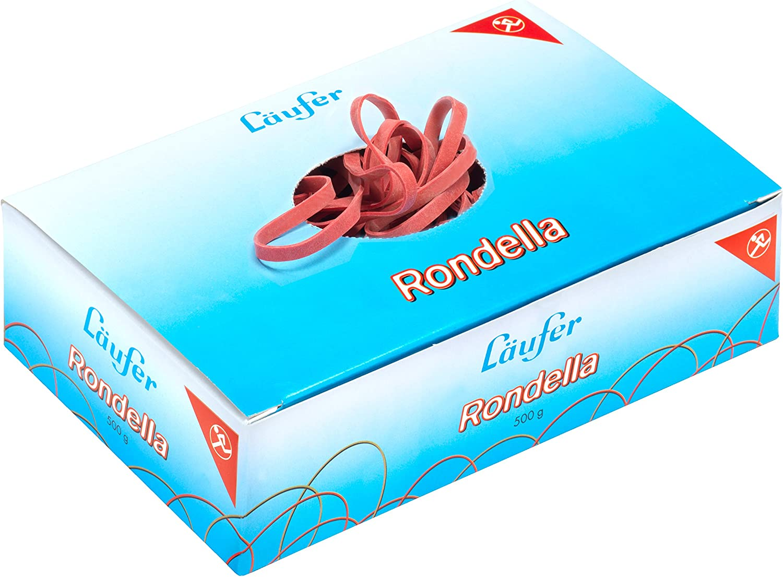 PASSATOIA Rondella elastici in gomma Scatola 1 kg 80x2 mm//50 mm /Ø