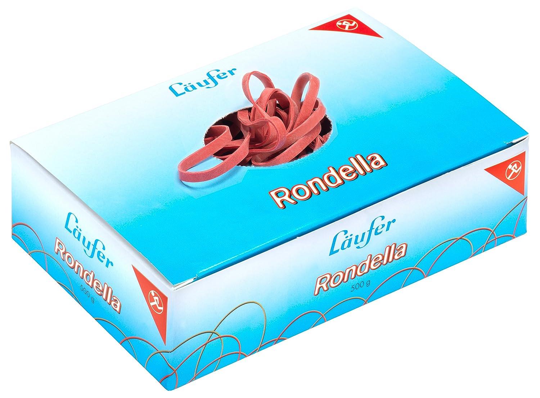 /Élastiques L/äufer Rondella bo/îte de 50 g 200x6 mm//125 mm /Ø Rot