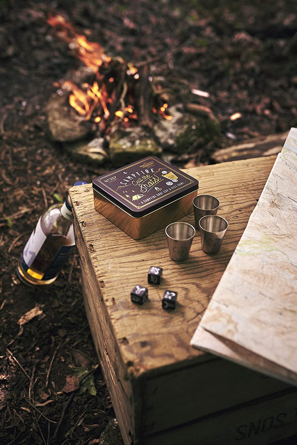 Multi One Size Gentlemens Hardware Unisexs Campfire Call The Shots Game