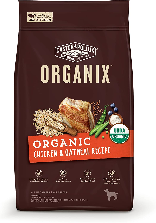 Castor & Pollux Organix Chicken & Oatmeal Dry Dog Food