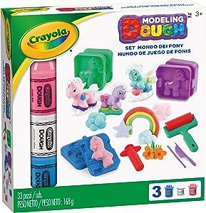 Crayola Modeling Dough Pony Play Land - 33 pieces