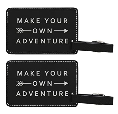 amazon com make your own adventure luggage tag travel gifts for