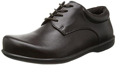 Birkenstock Schuhe Landshut aus echt Leder in braun mit schmalem Fussbett