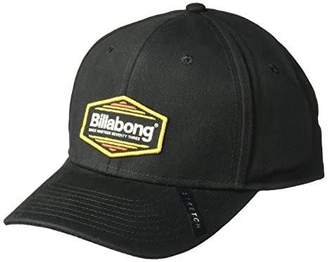 Billabong Mens Walled Stretch Hat, All All Black ...