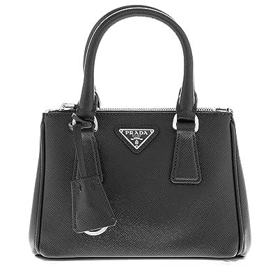 c268615e25f2 ... discount code for prada womens galleria saffiano mini bag black 1effa  7eb2d