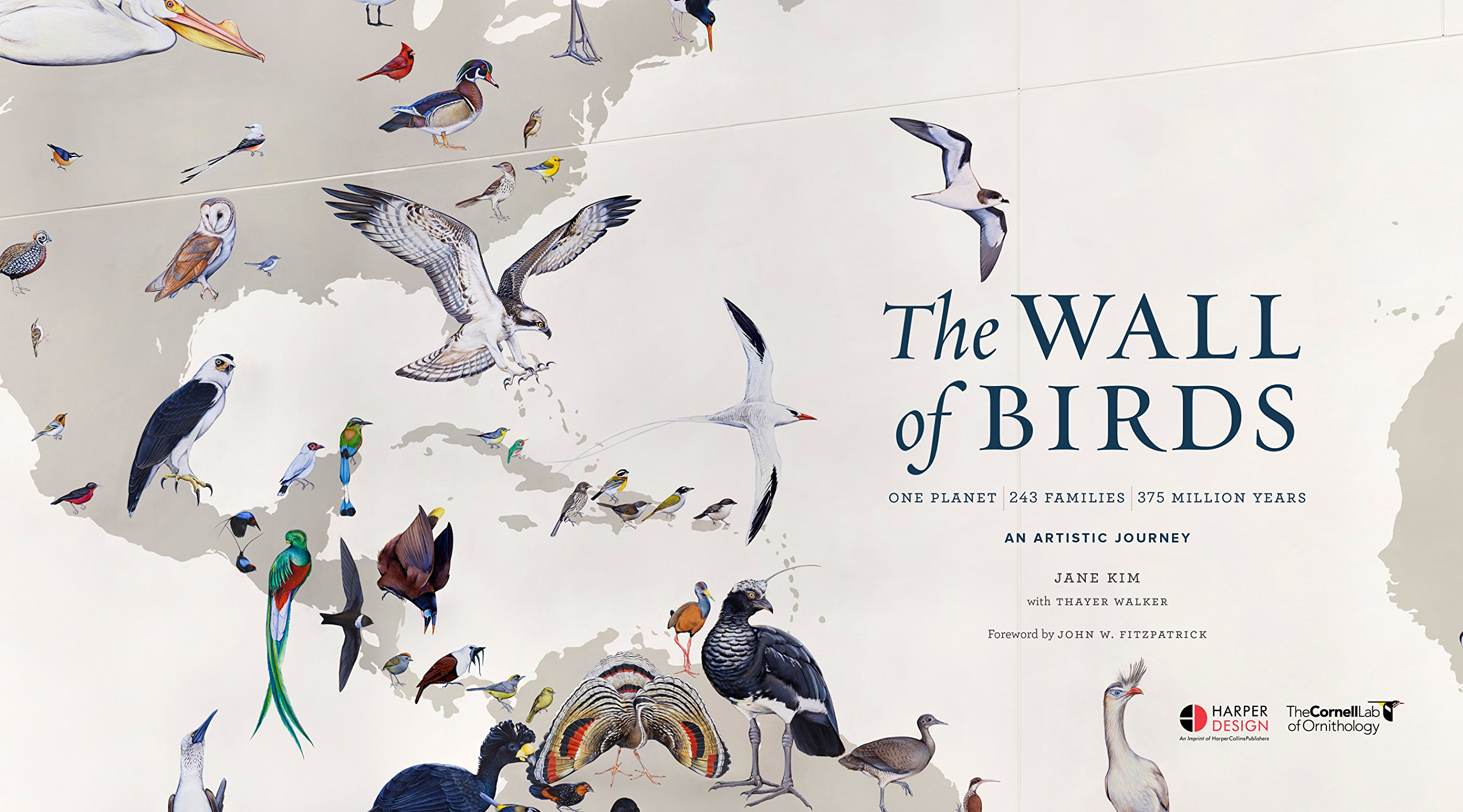 the wall of birds one planet 243 families 375 million years