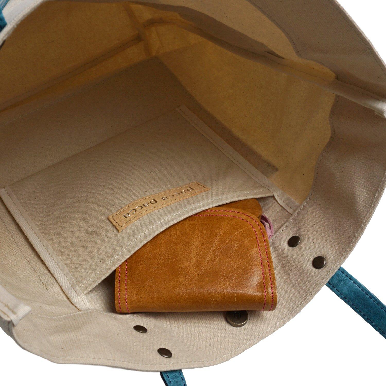 d39e8458b144 Amazon | [パッカパッカ]バッグ トートバッグ レディース キャンバス A4 軽い 撥水 縦型 肩掛け 日本製 本革 馬革 女性 大人  キュート 大容量 軽量 かわいい ...