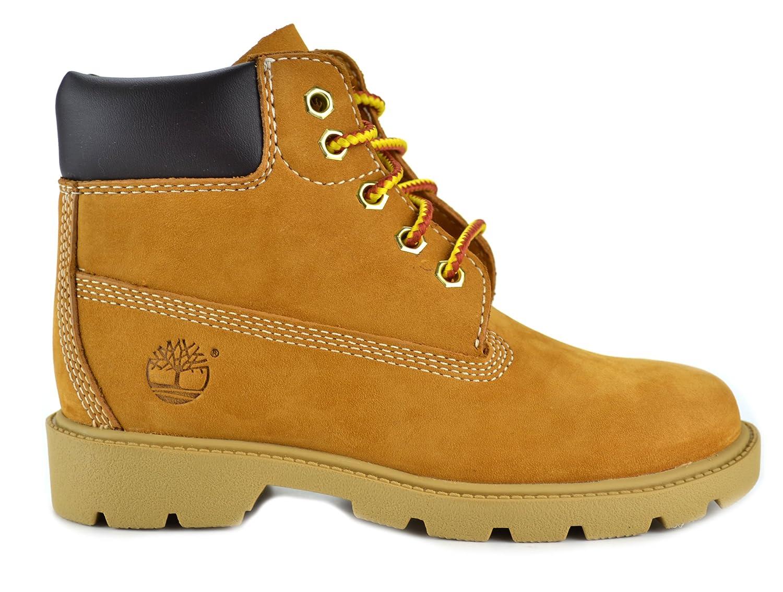 702e71455 Amazon.com | Timberland 6 Inch Preschool Kids Wheat Nubuck Leather Boots |  Boots