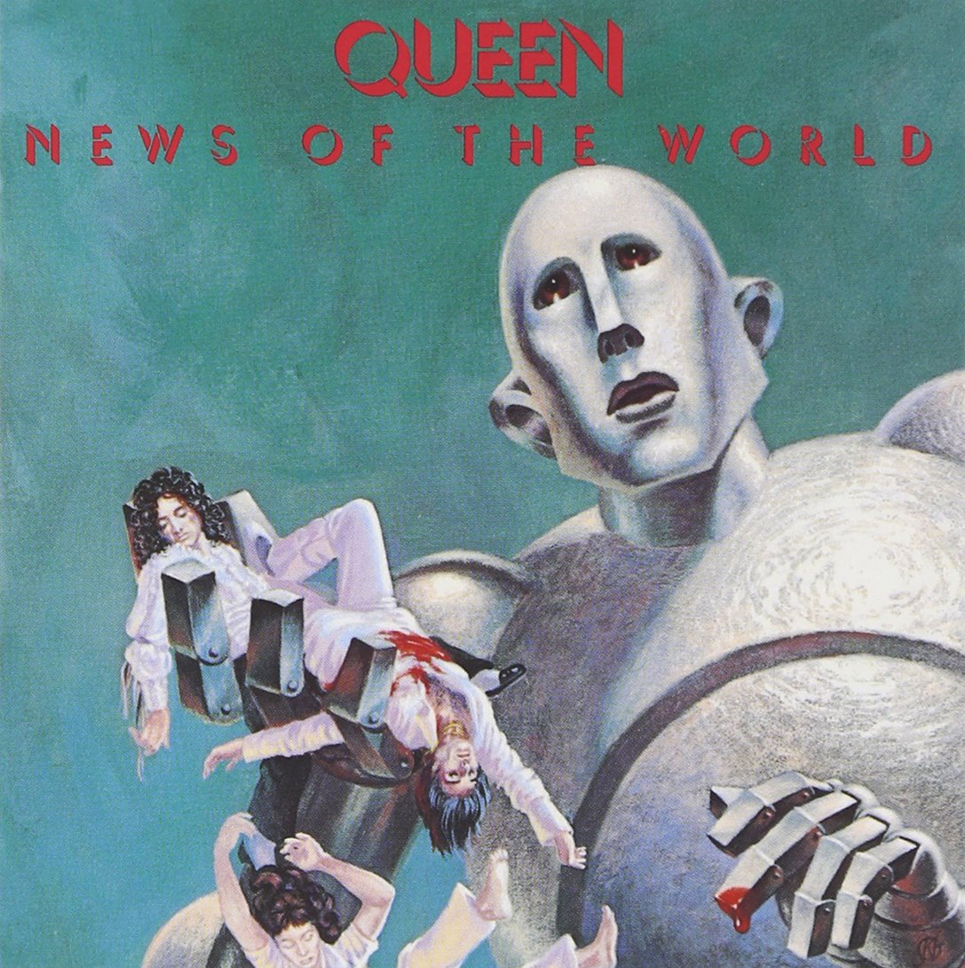 Resultado de imagem para queen news of the world