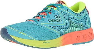 ASICS Womens Noosa FF Running Shoe, Aquarium/Flash Coral/Safety Yellow, 10 M US: Amazon.es: Zapatos y complementos