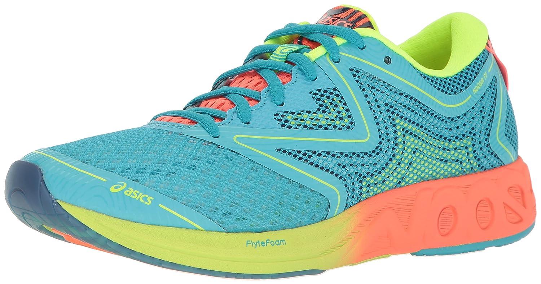 ASICS Women's Noosa FF Running Shoe B01GSS0G88 10 B(M) US Aquarium/Flash Coral/Safety Yellow