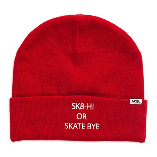 Image Unavailable. Image not available for. Color  Vans Off The Wall Men s  Sammie Beanie - Chili Pepper 40edaad860ea