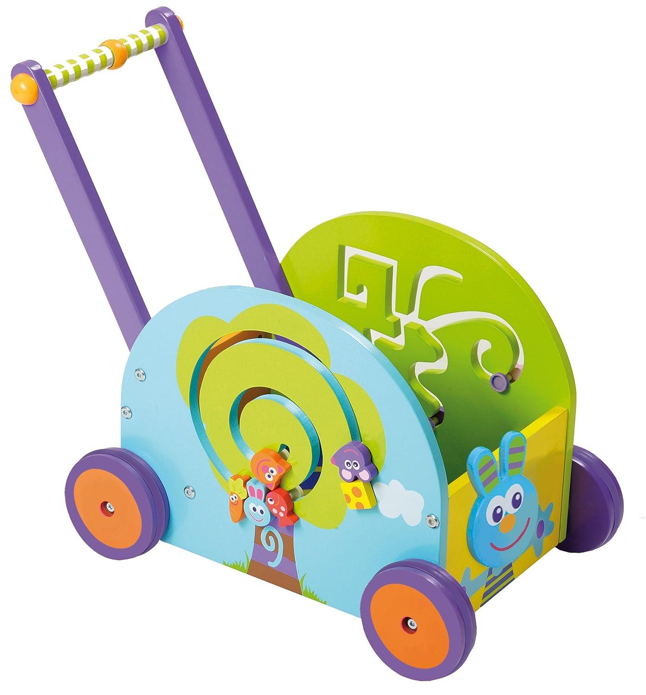 Wooden Push Toy Walker Wagon