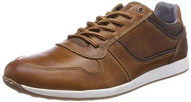 Herren 6343A Sneaker, Braun (Cognac), 44 EU Bullboxer