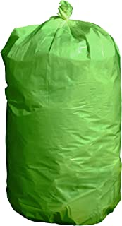 product image for USA-Made Colorful Trash Bags (10, GREEN 14 GALLONS)