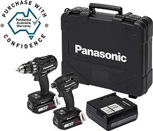 Panasonic EYC215LS2F57 Drill Driver & Impact Driver Combo Kit 14.4V 4.2Ah