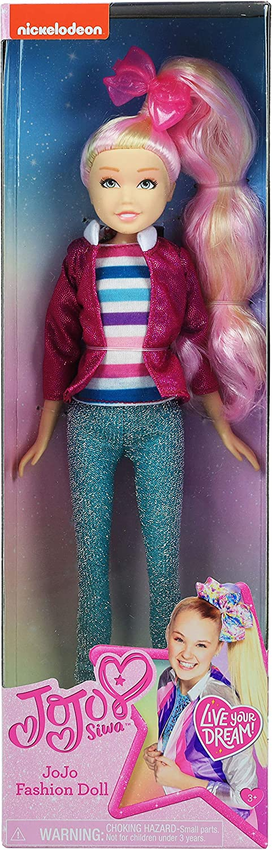 JoJo Siwa Fashion Doll Shimmer /& Sparkle 10-Inch Doll