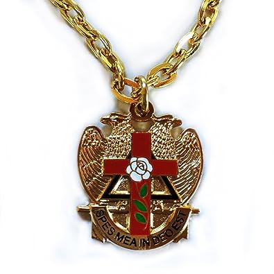 Scottish rite rose croix cross 32 degree masonic masonry freemason scottish rite rose croix cross 32 degree masonic masonry freemason pendant ne aloadofball Gallery