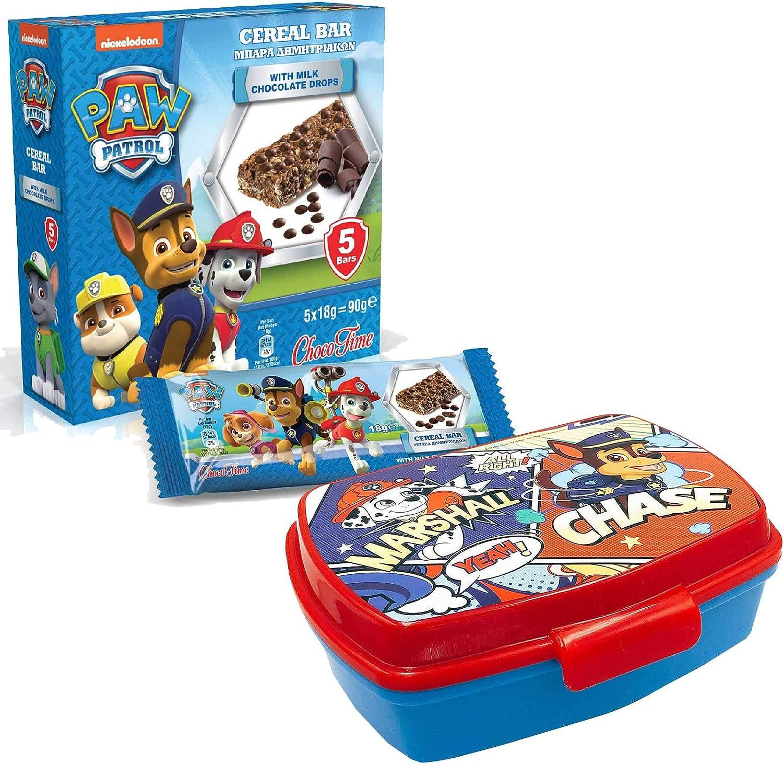 7-teilig mit Puzzle Tasse und M/üsli-Riegel JuniorToys Design f/ür Paw Patrol S/ü/ßes Geschenkset